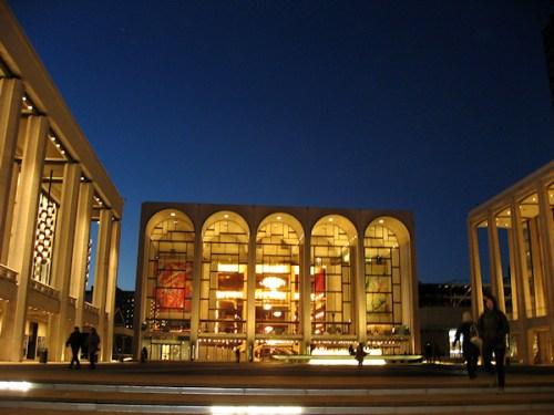 Lincoln Center at Dusk, photo taken by Joana Miranda
