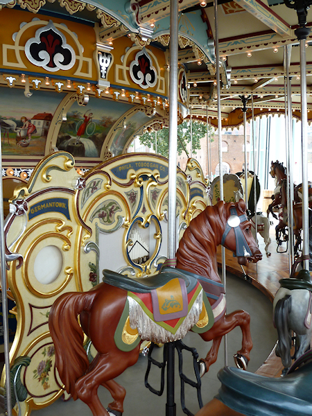 Photo of Jane's Carousel in Brooklyn, NY, taken by Joana Miranda