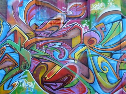 psychedelic graffiti