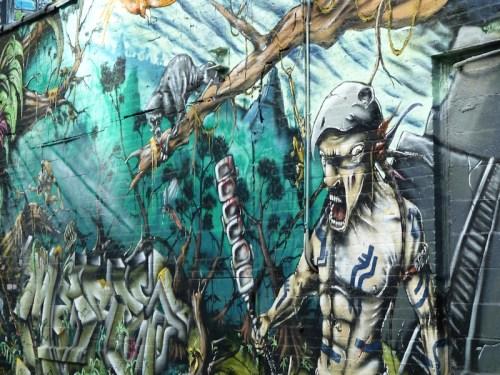 sci-fi graffiti