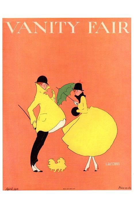 Vanity Fair postcard 2