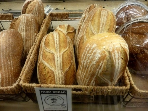 artisan loaves of bread