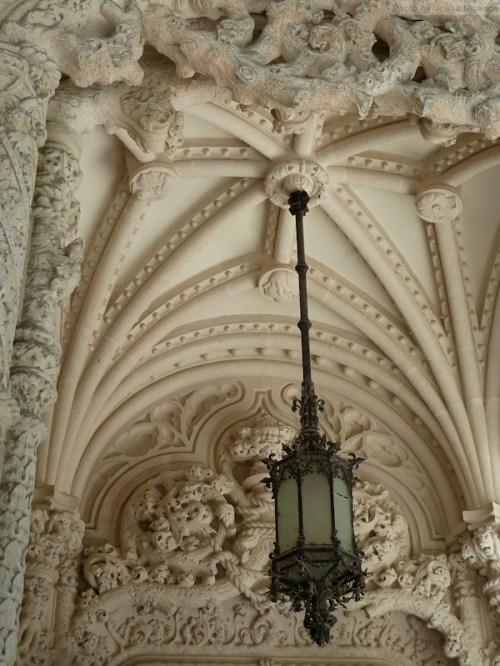 architectural details at Quinta Regaleira