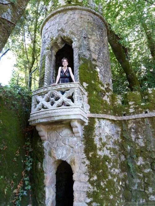 Joana in the turret