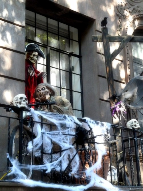 Halloween Terrace on Upper West Side