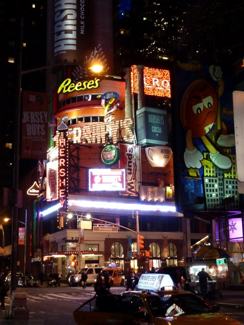 Hershey's store in Times Square