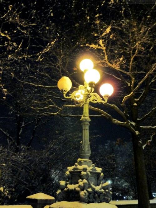 Lantern in Central Park