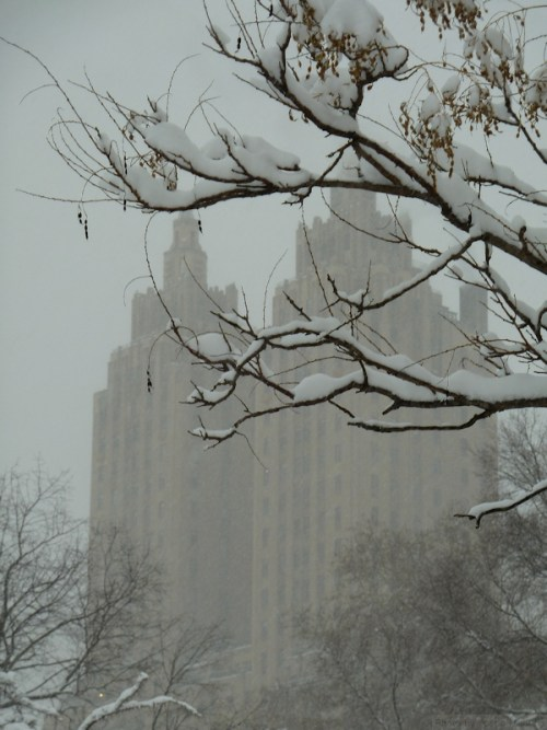 Central Park West in the snow2