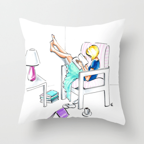 The Learned One pillow