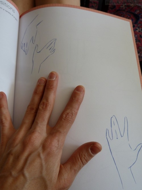 Drawing Hands with Chris Hart Fashion Design Studio book