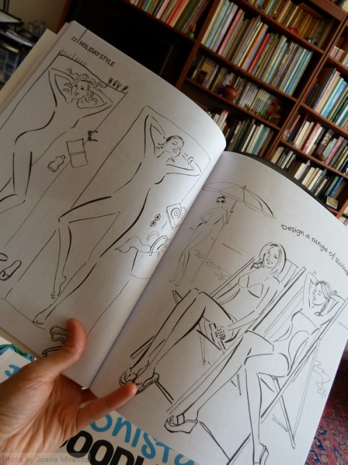 Inside Fashion Doodles by Robyn Neild