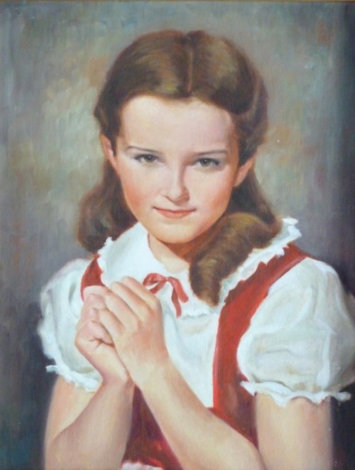Photo of oil painting of Ma