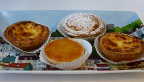 pastries on my Vista d' Alegre platter