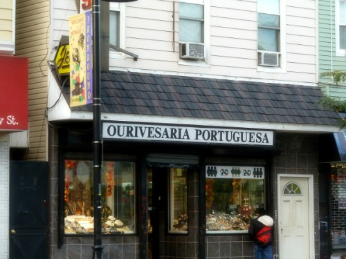 Portuguese jewelry store in the Ironbound district