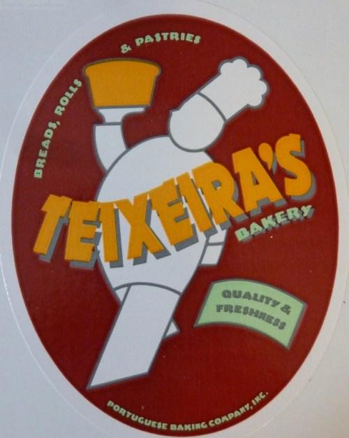 Teixera's bakery sticker