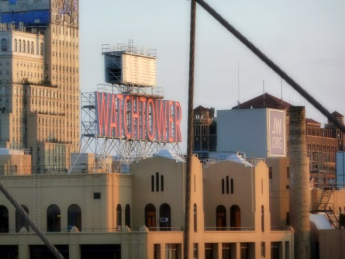 Watchtower in Brooklyn