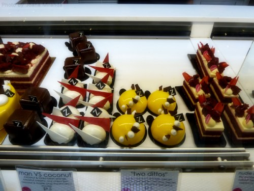 Colorful cakes at Zumbo