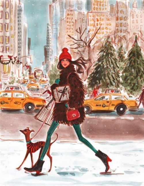 Henri Bendel Holidays by Izak Zenou