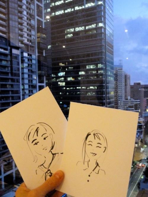 illustrating in Sydney
