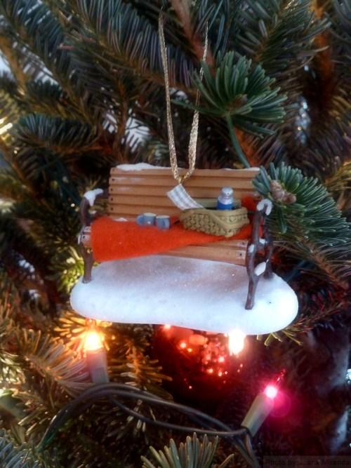 Park Bench ornament