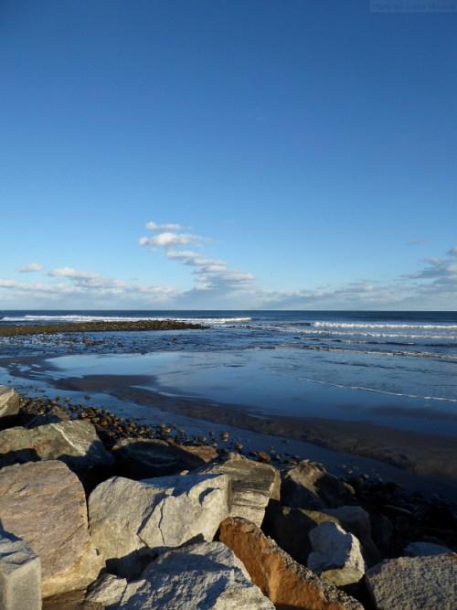 Rocky York coast