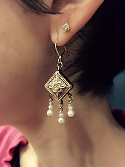 Joana's new earring