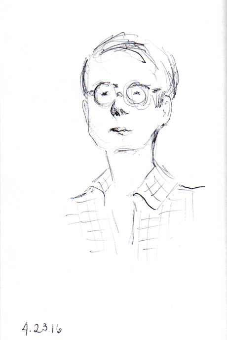 sketch of Andy