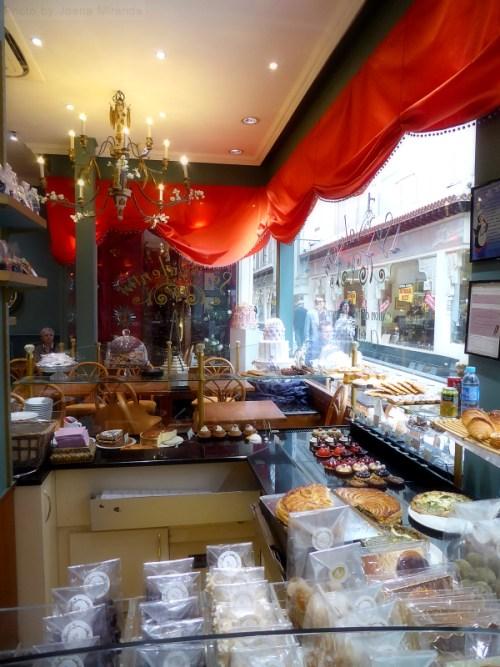 tea room in Paris