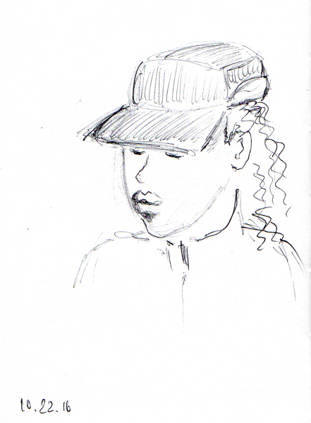 quick-sketch-of-young-african-american-man-with-engineers-cap