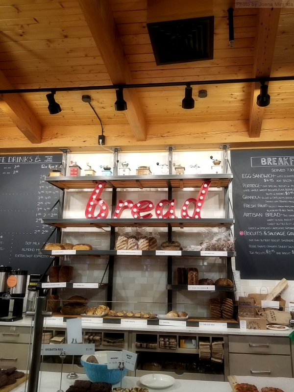 Photo of cafe at King Arthur Flour in Norwich, VT