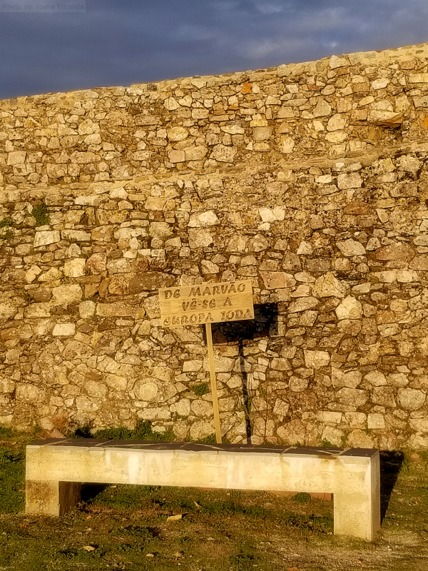 Funny sign just inside Marvao's castle walls
