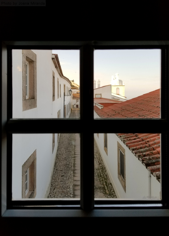 View from the Pousada de Santa Maria in Marvao, Portugal