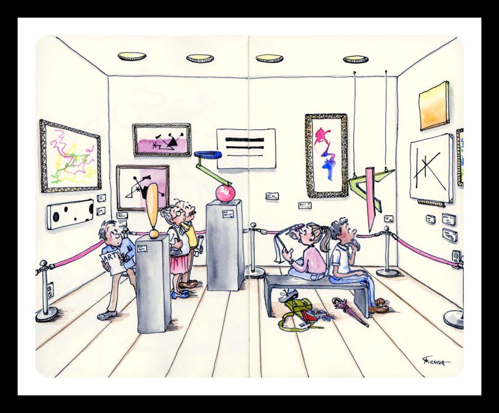 Humorous illustration print by Joana Miranda.  Now available at Joana Miranda Studio at Etsy