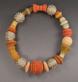 Fiber Bead Necklace