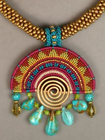 Cavandoli Sunrise Necklace