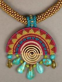 Cavandoli Sunrise Necklace