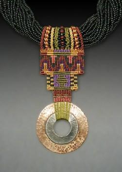 Pi Seed Bead Collar