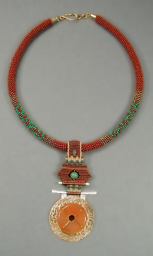 Santa F'Asian Necklace