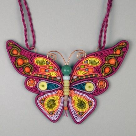 Fuchsia Butterfly