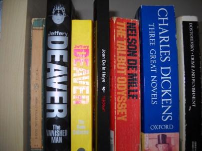 Shadows on the shelf
