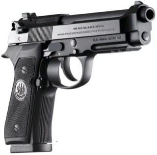 A very powerful and reliable hand gun from Bereatta