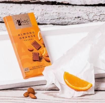 i choc almond orange vegan