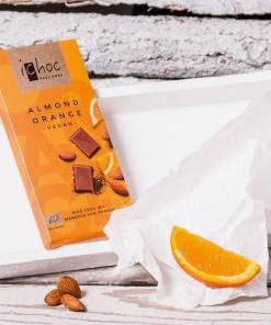 i choc almond orange vegan