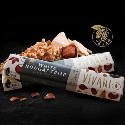 rice choc white nougat vegan