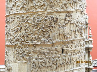 The Trajan Column detail