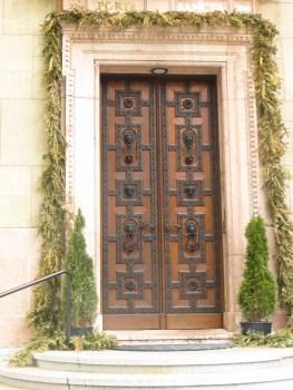 Beautiful ornate door