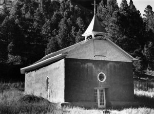048A01 Church at Las Trampas, NM 1998
