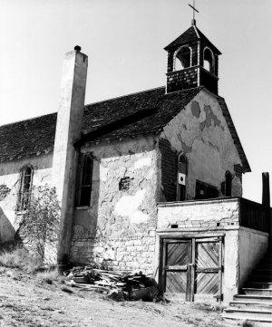 1981001001 Old Church at Madrid, NM 1981