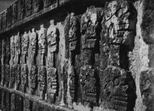 1989015014 Chicken Itza, Ball Court Carvings 1989