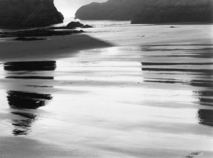 2001054B01 Bandon Beach at Dusk, OR 2001